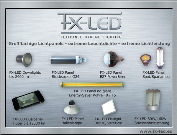 FX-LED Die Innovation bei LED Leuchtmittel